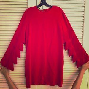 Red Stella McCartney tassle dress *New w tags*